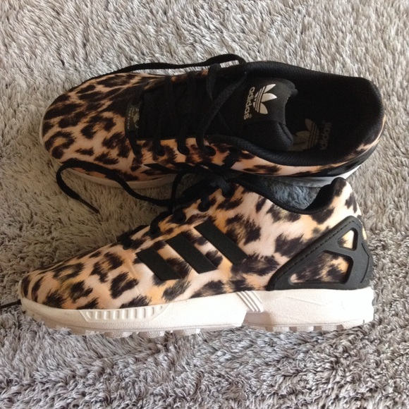 4fbb31b81000 adidas Shoes | Womens Cheetah Leopard Zx Flux | Poshmark